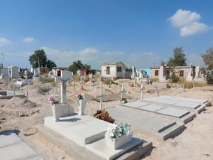 No caben más tumbas en panteón 'Dolores' de Frontera