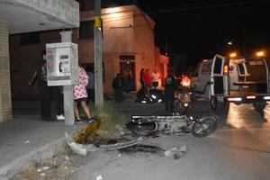 VIDEO: Derriban de motocicleta a enfermeroen Monclova