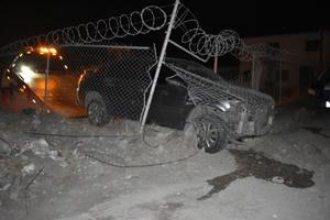 Conductor se estampa contra malla en Monclova