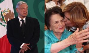 AMLO: Envía pésame a gobernadora de Sonora por muerte de su madre