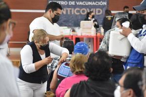 Reanudan vacunación contra el COVID-19 en Monclova