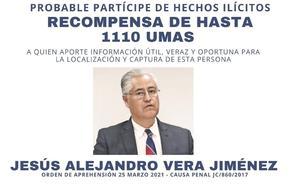 Fiscalía ofrece recompensa para localizar a exrector de UAEM