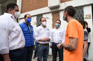 Santiago Taboada escucha a vecinos de alcaldía Benito Juárez
