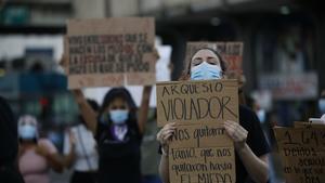 Detenidos en protesta por fallo que exoneró de violación a diputado en Panamá