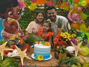 Romina celebra tres añitos de vida