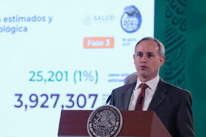 Sin diferencia entre público y privado: aseguró López-Gatell sobre vacuna a docentes