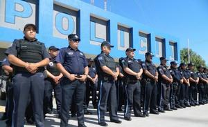 Contingencia pega a la policía estatal en San Luis Potosí