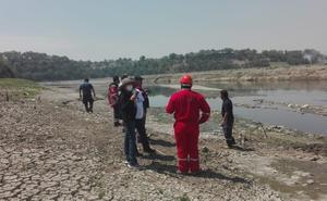 Se derrama combustóleo de refinería de Pemex en Hidalgo