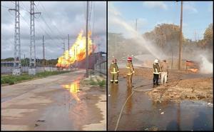 Reportan incendio en complejo petroquímico Pajaritos en Veracruz