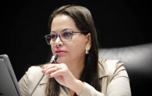 Quien tiene interés en NL es Mario Delgado y no AMLO: senadora
