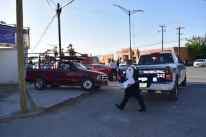 Accidente automovilístico en Monclova provoca carambola de tres vehículos