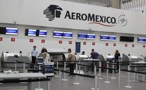 Ingresos de Aeroméxico cayeron 51% en trimestre