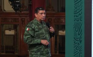 Confirma Sandoval González ataque a fuerzas armadas con drones