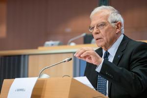 Borrell condena el ataque ruso en Chequia y las amenazas de Moscú