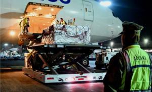 Llega a México nuevo cargamento con 687 mil 500 vacunas