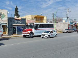 Al alza demanda de transporte colectivo en Frontera
