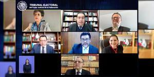Magistrados reclaman al presidente de TEPJF por aplazar caso Salgado