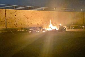 Tres cohetes impactan cerca de aeropuerto de Bagdad sin provocar víctimas