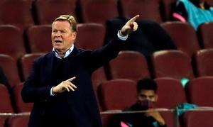 Ronald Koeman: 'En un partido como hoy no hay que tener problemas al final'