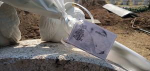 Sepultan a 'La beba de Aragón', pequeña hallada sin vida dentro de una mochila