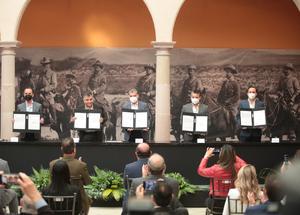 Firman convenio el Congreso de Coahuila y COPARMEX: MARS