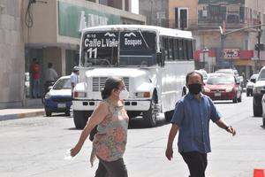 Buscan autoridades normalizar horarios y rutas del transporte en Monclova