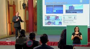 Exponen brote de COVID-19 en Monclova dentro de conferencia nacional