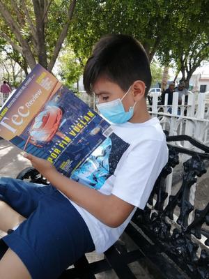 Invitan a leer en el Día Internacional del Libro