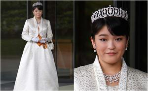 La boda de Mako de Japón en pausa por líos de dinero de su prometido