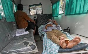 Mueren 24 pacientes de coronavirus en la explosión de un hospital de Bagdad