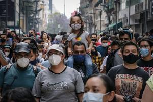México acumula 214 mil 853 muertes por COVID-19