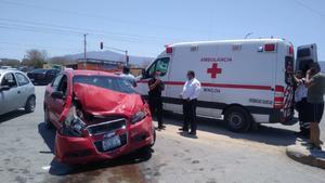 Fuerte accidente en Monclova deja una persona lesionada