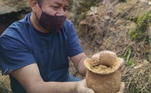 Hallan restos de la nobleza zapoteca