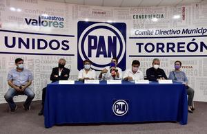 Denuncia a candidato del PAN por presunto uso de despensas