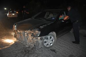 Fuerte choque en la Puerta 4 de Monclova; conductor circulaba ebrio