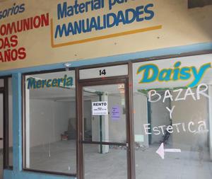 'Quiebran', cierran y rentan negocios de la zona centro en Monclova