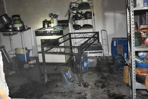 Se incendia casa en Monclova