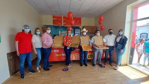 Crea empleos llegada de franquicia de pizzas en Frontera