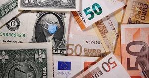 El euro sube al máximo desde hace casi dos meses, pero cae después
