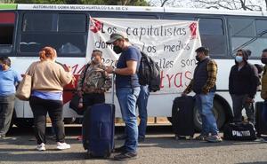 Ante bloqueo de aeropuerto de Oaxaca, gobierno estatal pide diálogo