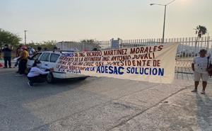 Huelguistas despedidos exigen pago de salarios caídos en Oaxaca