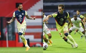 Aguilera y Sebastián Córdova, bajas del América para Concachampions