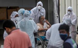 OMS moviliza ayuda a india ante la situación 'desgarradora' que se vive por el covid-19