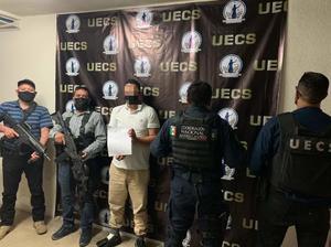Detiene FGE a presunto secuestrador en Saltillo