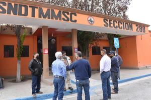 Confía 288 en buen resultado en negociación del contrato en Monclova