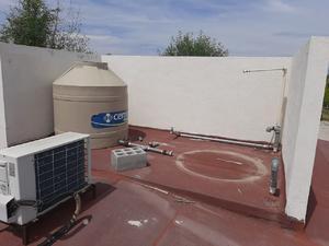 ¡Lo que faltaba!: se roban tinaco de agua del CBTA
