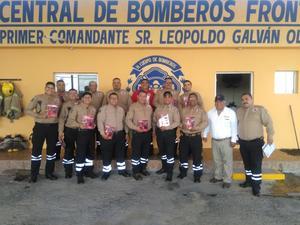 Recuerdan fundación de Bomberos Frontera