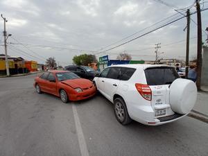 Fuerte accidente automovilístico en Frontera