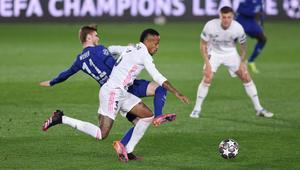Chelsea y Real Madrid empatan en semifinal de ida en Champions League