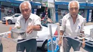 Tiene 71 años y con su estufa solar se ha viralizado en redes